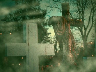 Кладбище кочующих памятников